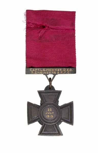 Lanoe Hawker's Victoria Cross