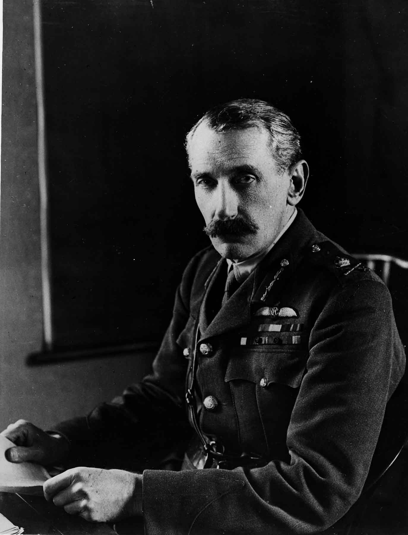 PC71/19/81 Sir David Henderson, Commander of the RFC, ca. 1915.