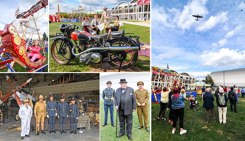 The Hendon Pageant festival at the RAF Museum London on 15 September 2018