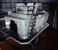 A Lockheed Hercules simulator at RAF Lyneham, 2001