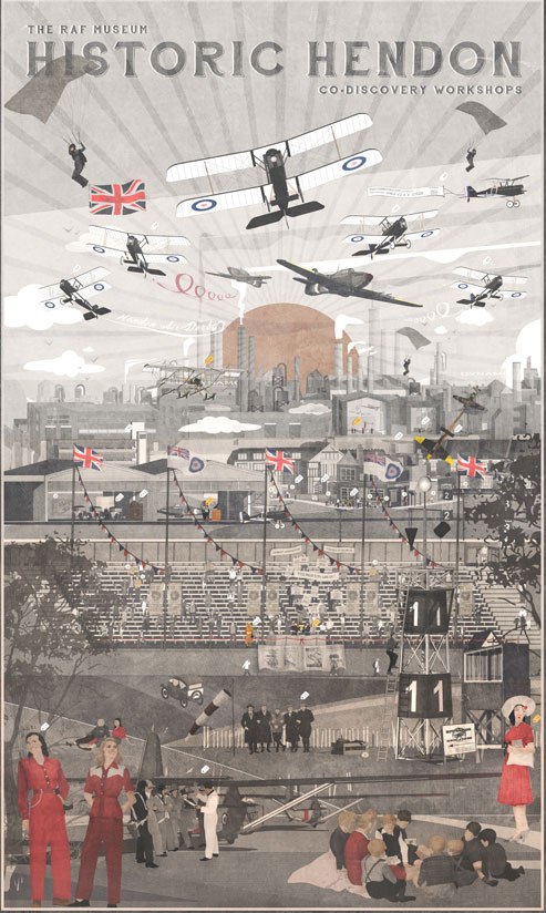 The Historic Hendon Co-Discovery Workshops Poster
