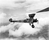 Avro 504N (K1966) of Cambridge University Air Squadron