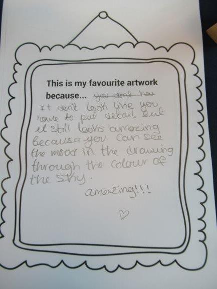 Response to Artwork