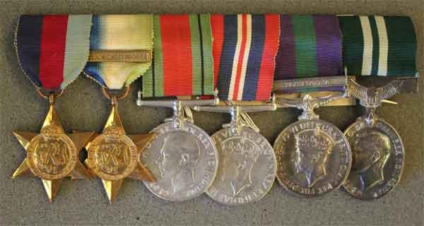 Medals of Sqdn Ldr Donald Gray (X008-4139)