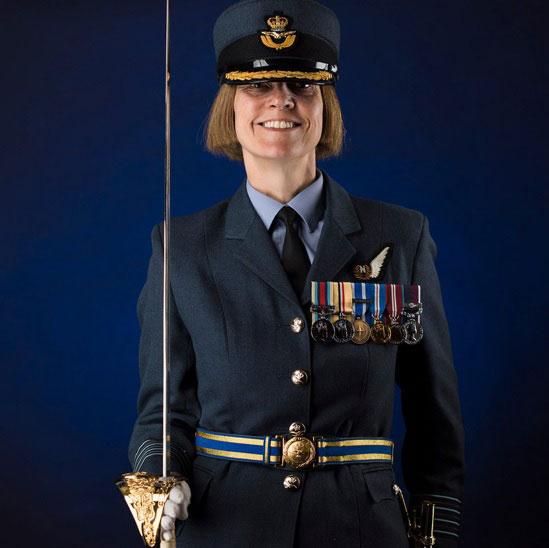 Gp Capt Anne-Marie Houghton © MoD