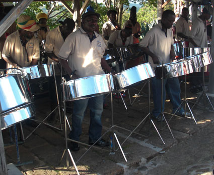 Steel Band (Courtesy of Black Cultural Archives)