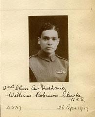 Sergeant William Robinson Clarke, 26 April 1917 (Courtesy of the Royal Aero Club Trust)