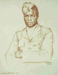 Aircraftman First Class Michael Odunasu