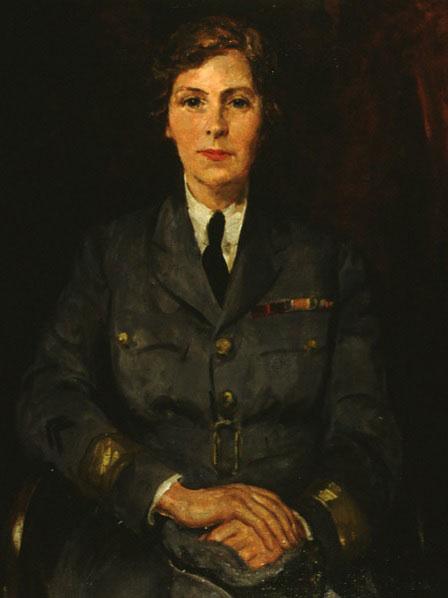 Air Commandant Dame Helen Gwynne-Vaughan by Thomas Cantrell Dugdale © RAF Museum FA01245