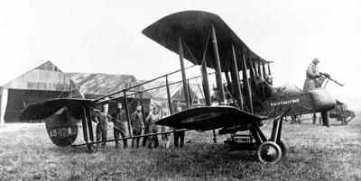 Royal Aircraft Factory F.E.2b A5478 'Gold Coast No. 10', of 25 Squadron, Auchel, circa 1916 (P018643)