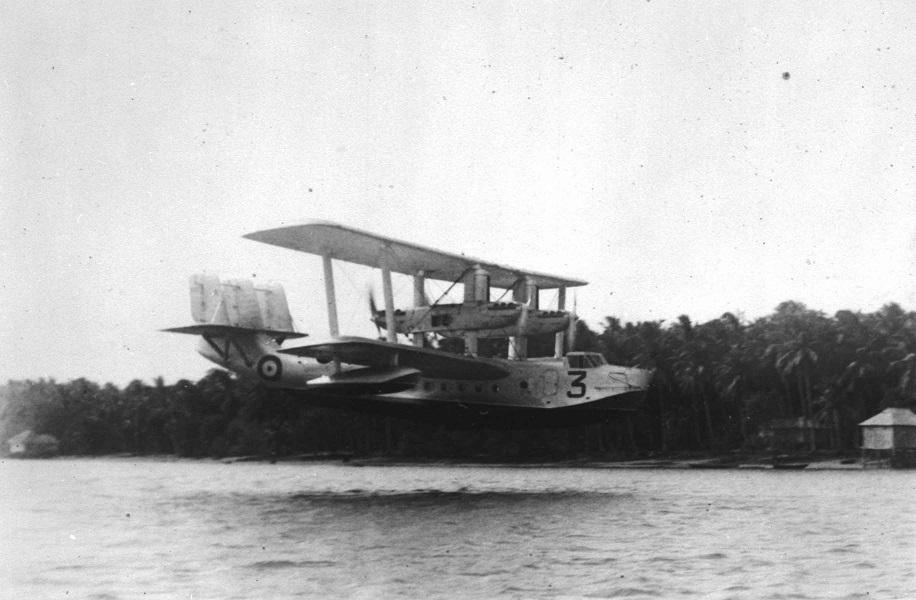 PC72/206/37 Short Singapore III, No. 205 Squadron, Singapore, undated