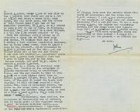 Letter from Mr F.W. John Kemp to Miss Freda Powell, Civil Flying Training College, Desford, 19 June 1937