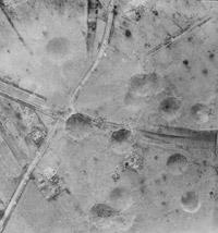 Damage assessment photograph of Saumur tunnel, France, 9 June 1944