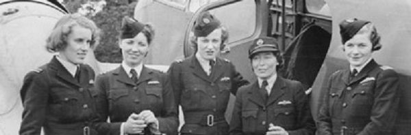Members of the Air Transport Auxiliary circa 1942