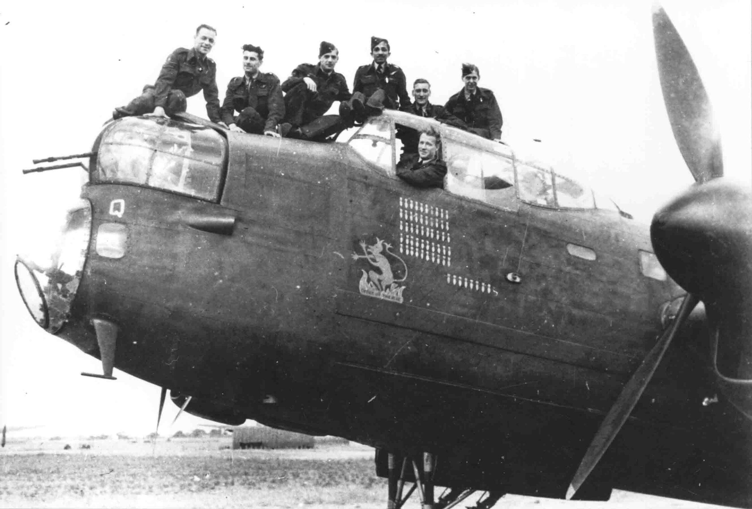 Lancaster crew