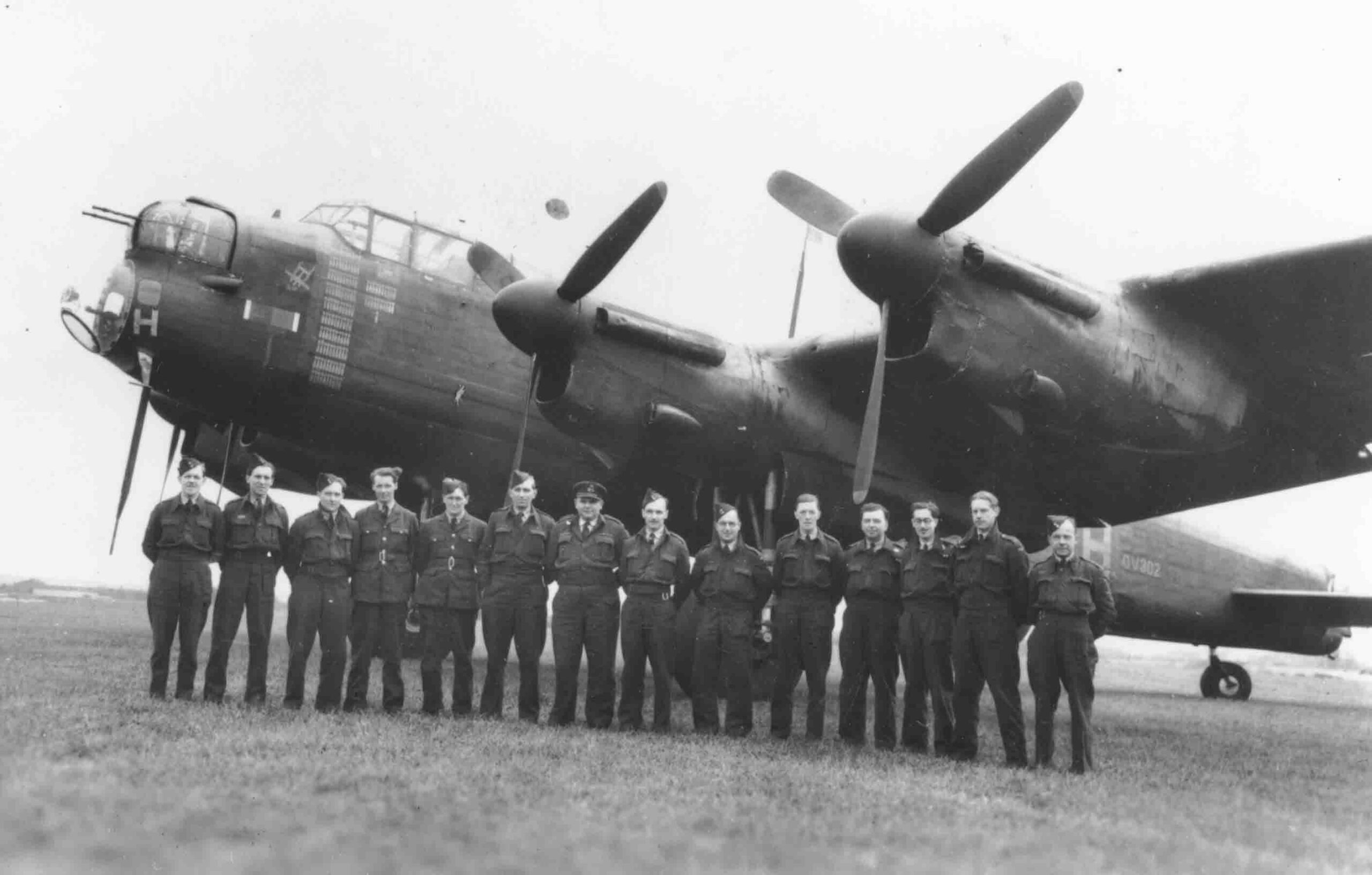 Lancasters were not only used for bombing, but also for electronic deception.