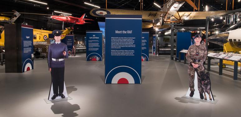 Meet the RAF by visiting Hangar 1