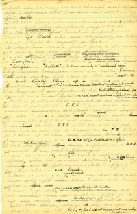 Manuscript of 'Five Years in the Royal Flying Corps' by Major James Thomas Byford McCudden, July 1915-March 1917: Volume 2, 1918