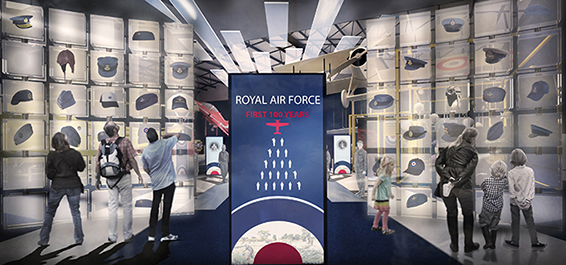 'The First 100 Years of the RAF' exhibition opening this summer in RAF Museum London