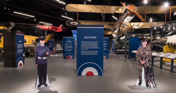 Meet the RAF - as part of RAF Stories
