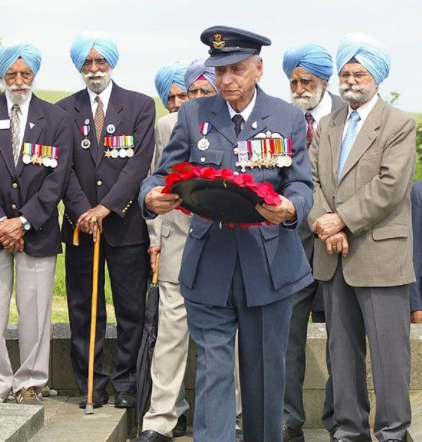 Mohinder Singh Pujji DFC British and Commonwealth Forces
