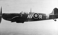 Supermarine Spitfire Mk. Vb of No. 121 (Eagle) Squadron