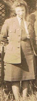 Mum in WAAF during WW2