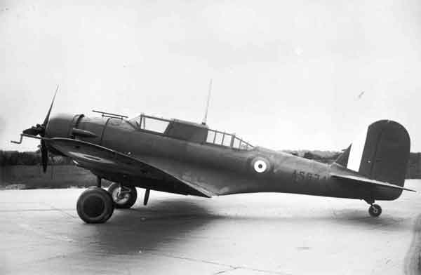 Northrop Nomad Mk. I (AS974), port side view on ground (P009029)
