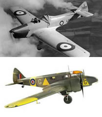 Miles Magister and Airspeed Oxford