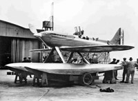 Shown here is the team and aircraft (Supermarine S 6B) from 1931