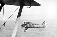 The Fiat C.R.42 was one of the last biplanes to see extensive combat. Although obsolescent by the time war was declared experienced pilots were on occasion able to hold their own against their more experienced RAF counterparts. The entire expedition was plagued by the poor weather of late autumn and winter in northern Europe.