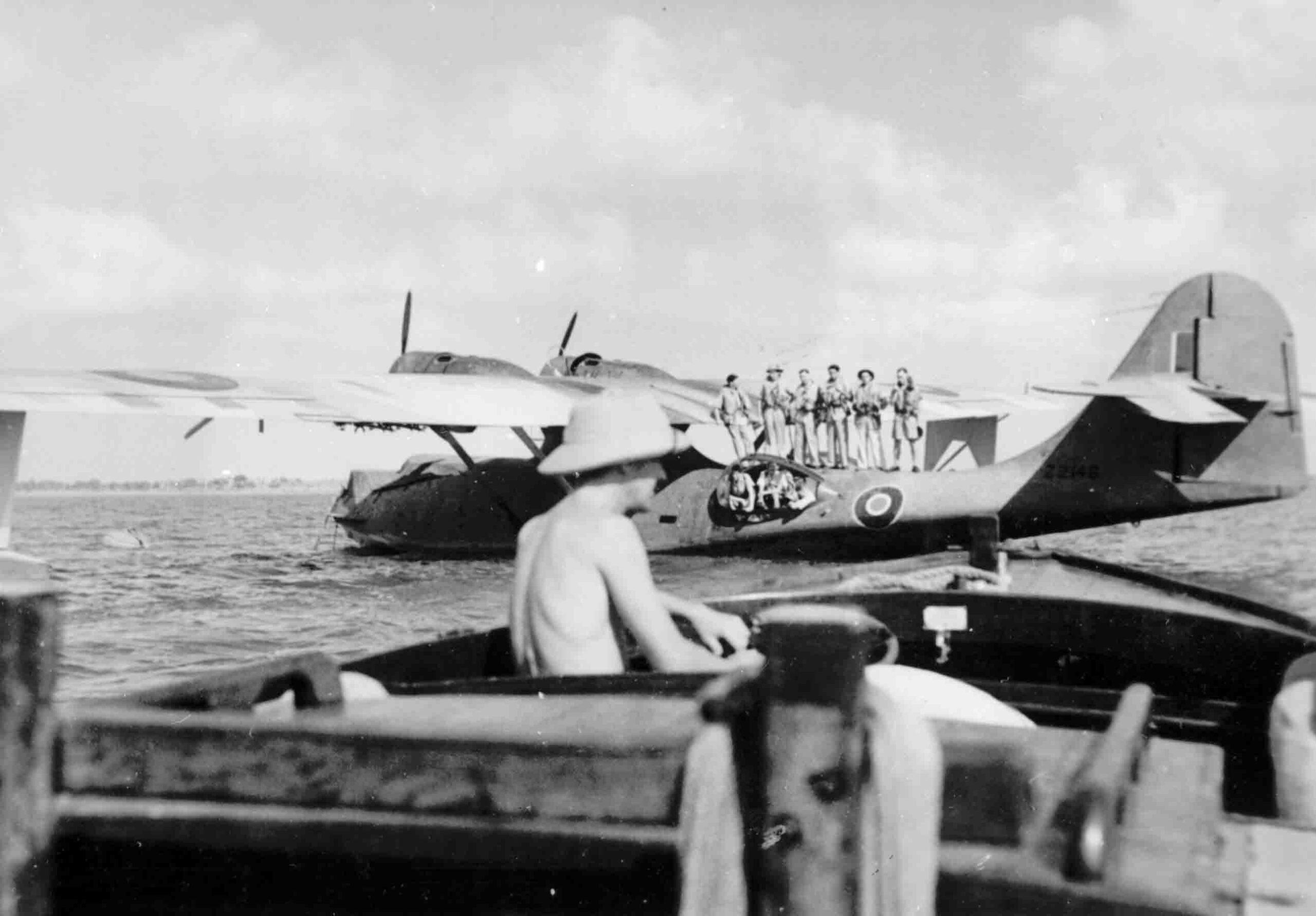 Consolidated Catalina Mk. I of 240 Squadron, Redhills Lake, Ceylon, 1944 (RAFM P002435)