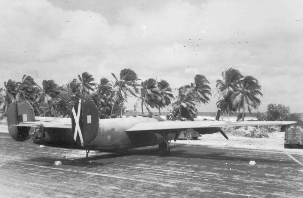 Consolidated Liberator of 356 Squadron on the Cocos Isalnds, P007853