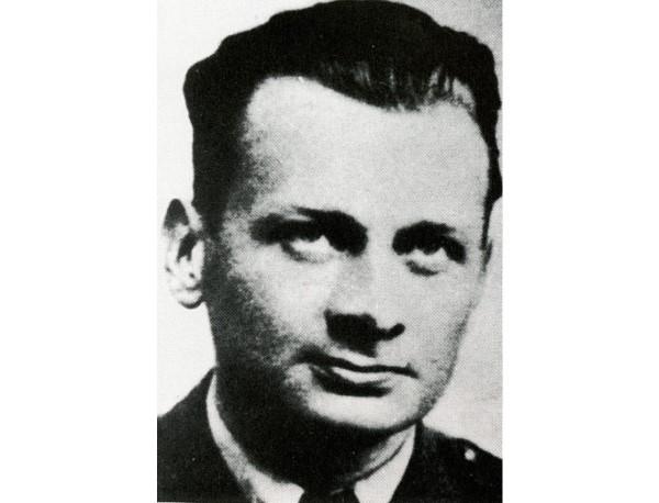 Portrait of Pilot Officer Ludwick Paszkiewicz