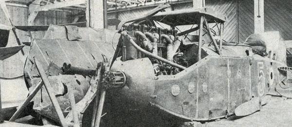 Image of the RAF Museum's L.V.G. C.VI, circa 1920