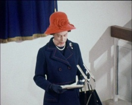 HM The Queen Officially opening the Museum in 1972