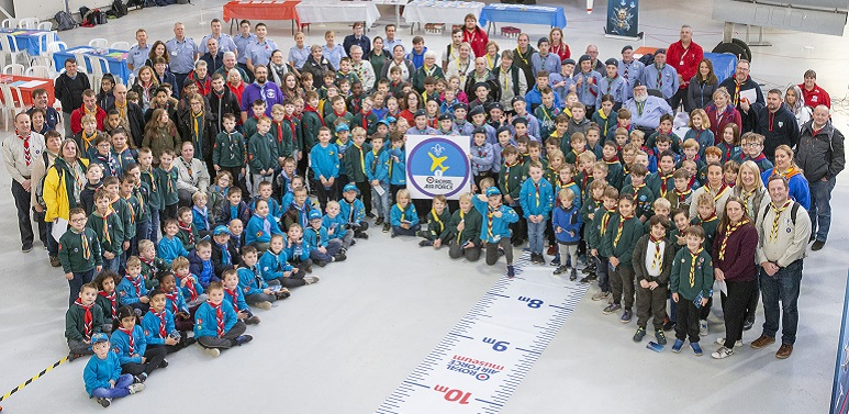 Scouts from across the region have attended a STEM event at the RAF Museum at Cosford.