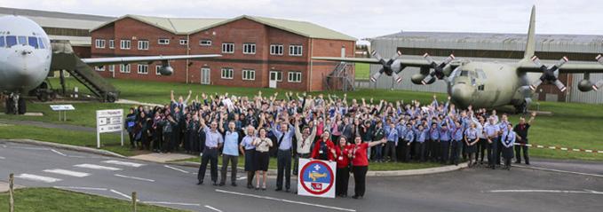 RAF 100 Air Research Badge Launch Cosford