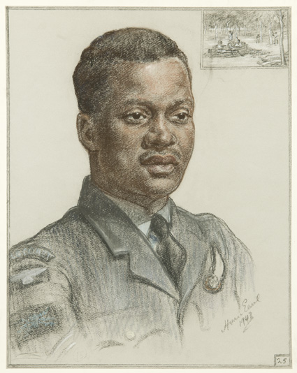 A Wireless Operator from the Gold Coast, Sgt R.S. Eminsang, Honour Earl, 1943 (FA00941)