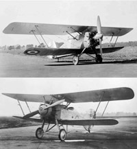 The Armstrong Whitworth Siskin III and Armstrong Whitworth Atlas Trainer