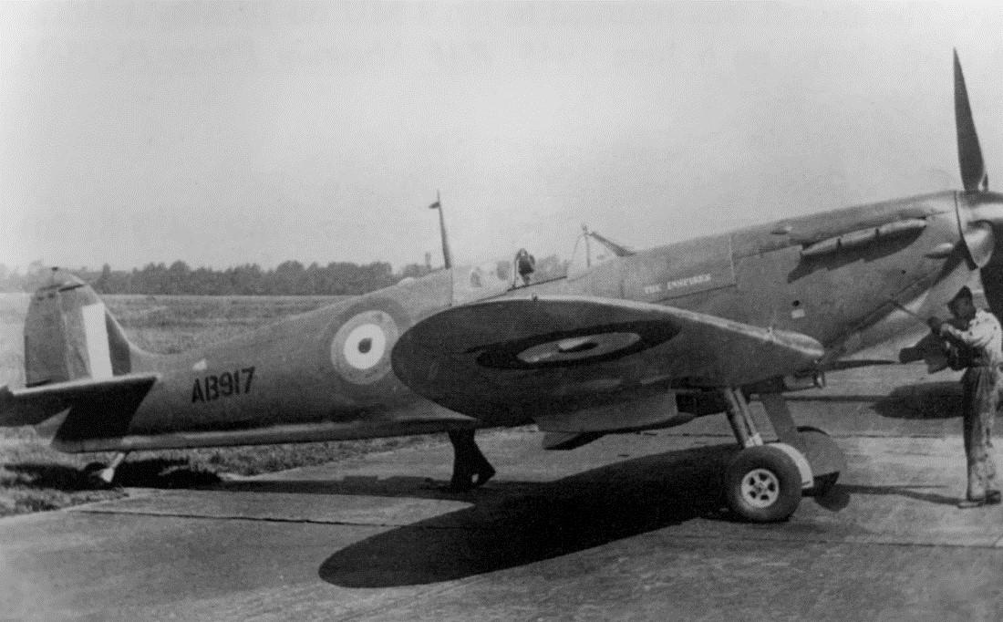 """Spitfire Mk. Vb AB917 """"The Inspirer"""""""
