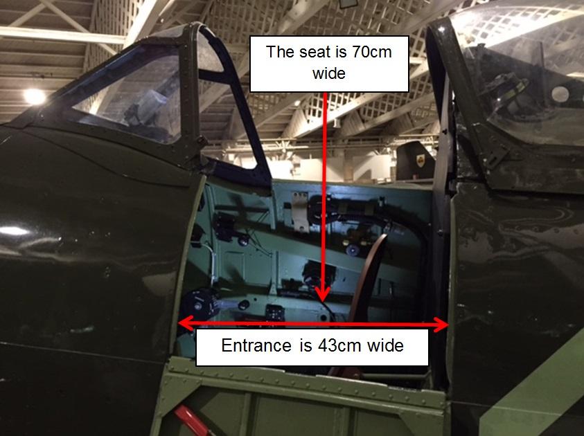 Spitfire MK16 Cockpit