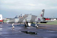 A BAe Hawk of the Tactical Weapons Unit