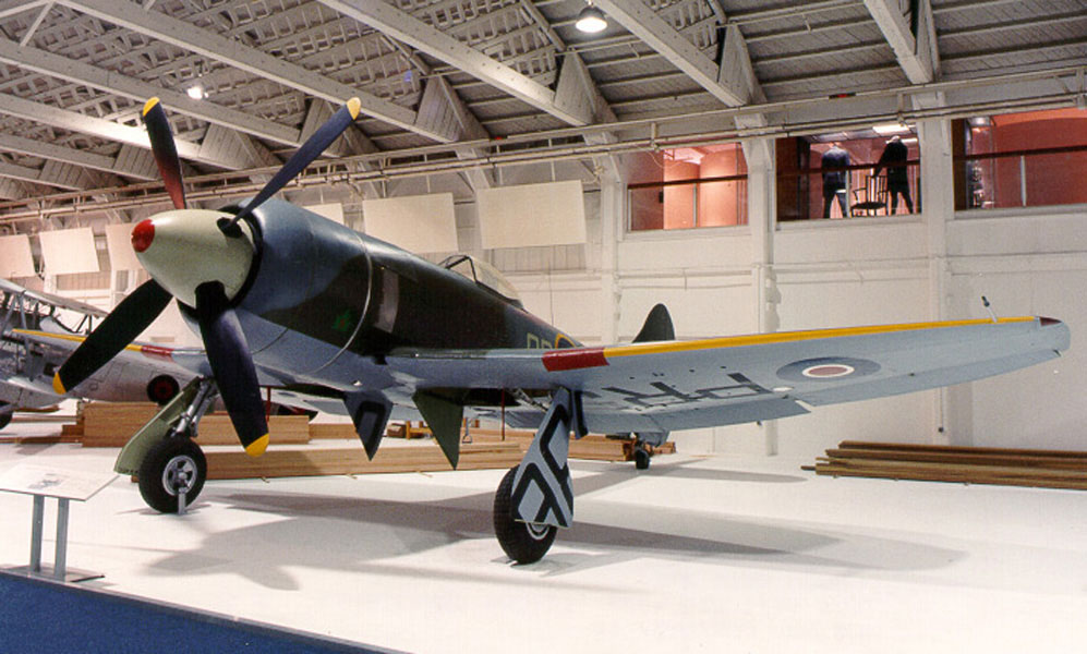 Hawker Tempest of the RAF Museum