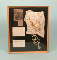 Fragment of Plt Off Fiske's parachute