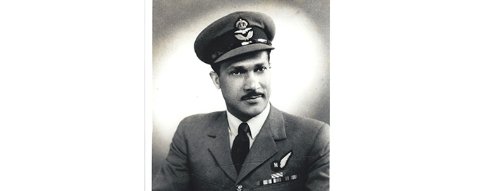 Flight Lieutenant John Blair, DFC with Transport Command in the 1950s