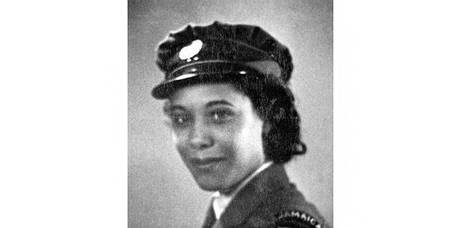 Leading Aircraftwoman Sonia Thompson from Kingston, Jamaica, circa 1944 (Courtesy of IWM)
