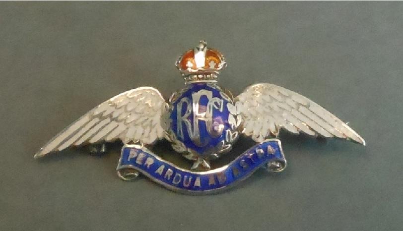 2. X003-1699 - RFC Wings Brooch. RAF Museum