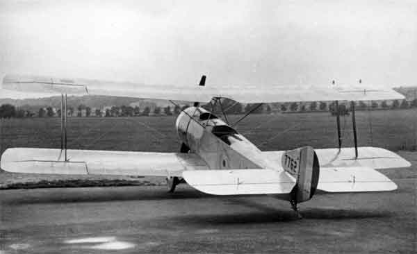 X003-2602/14004 Sopwith 1½ Strutter, serial 7762, port rear view, Ruston, Proctor Works, Lincoln.