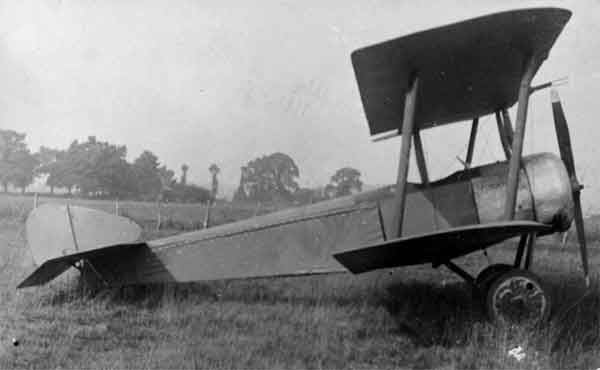 X003-2602/14274 Sopwith SL.T.B.P., starboard side view, probably 1926.